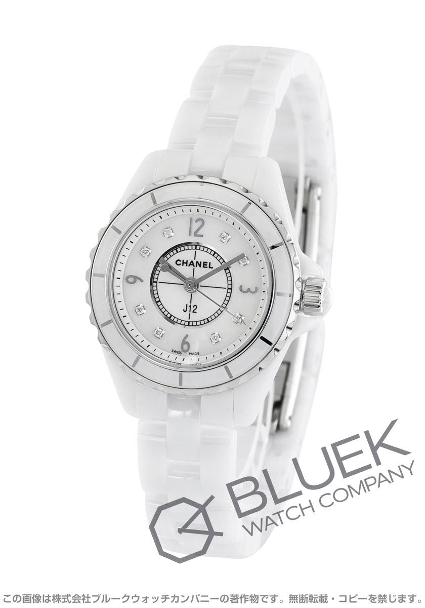 シャネル J12 ダイヤ 腕時計 レディース CHANEL H2570