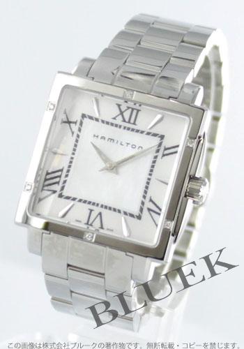 1b346656e9 ハミルトン ジャズマスター スクエア ダイヤ 腕時計 レディース HAMILTON H32291114