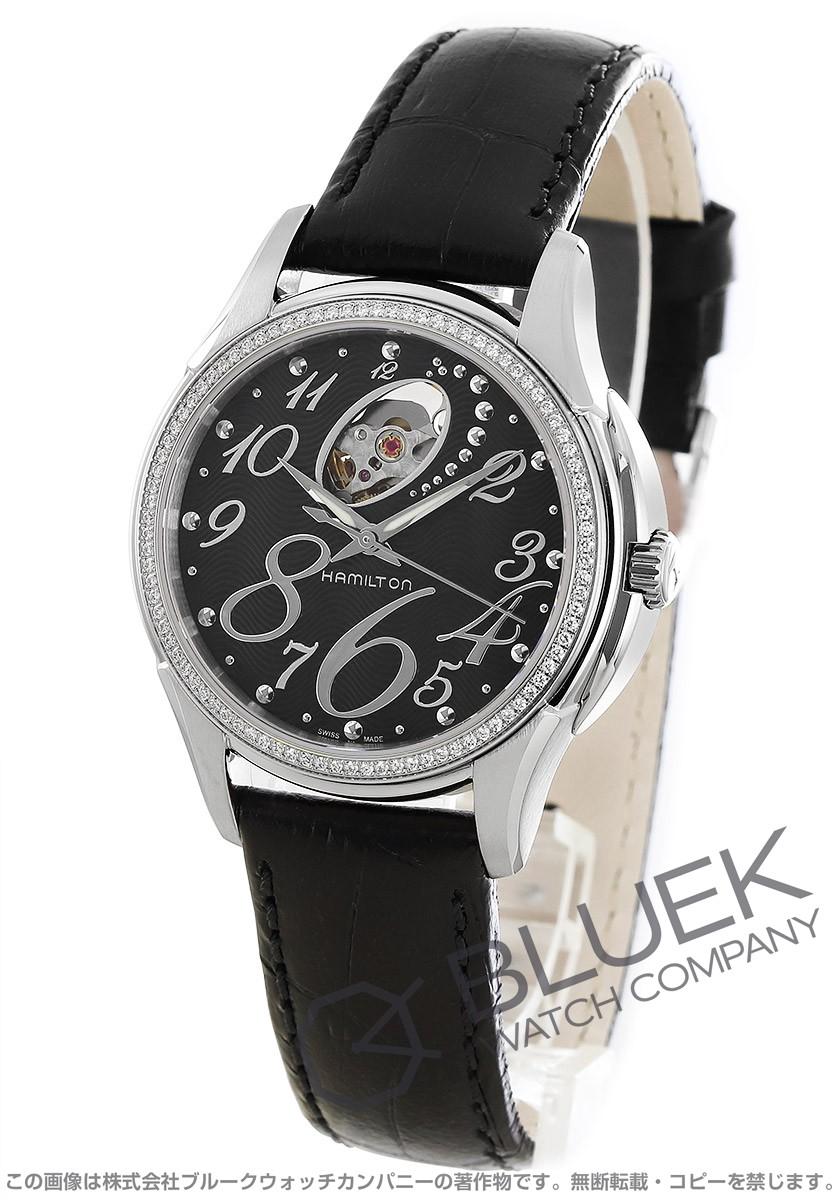 ハミルトン ジャズマスター レディ オート ダイヤ 腕時計 レディース HAMILTON H32485733