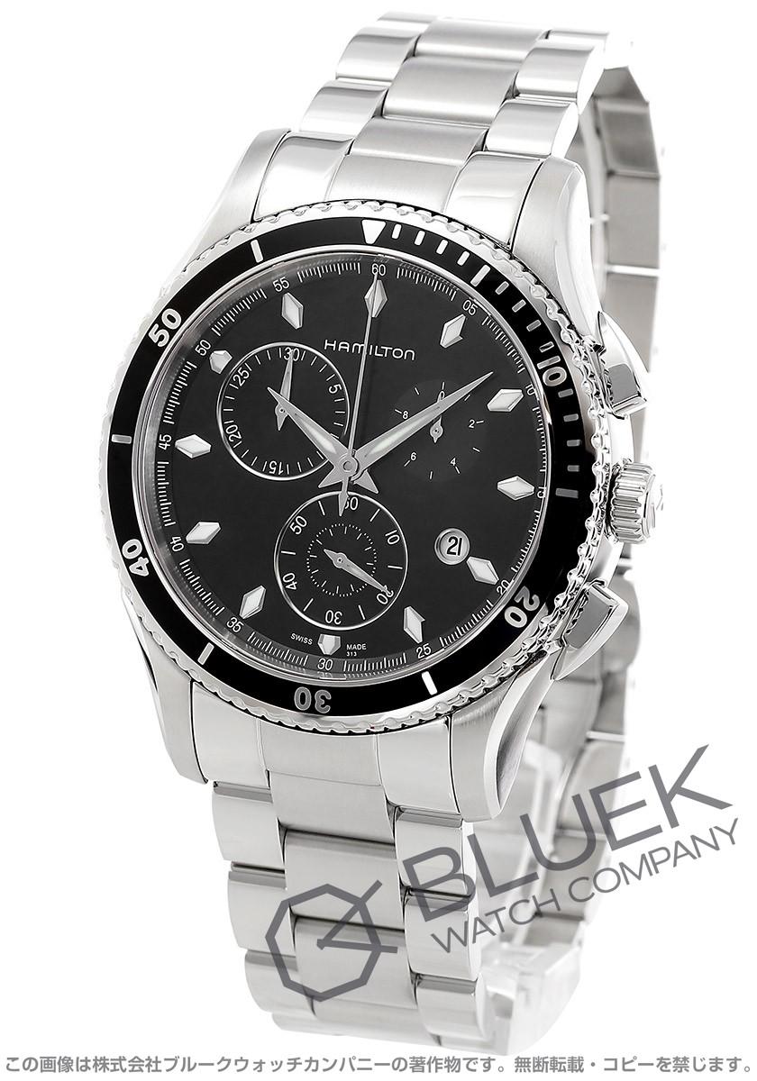 ハミルトン ジャズマスター シービュー クロノグラフ 腕時計 メンズ HAMILTON H37512131