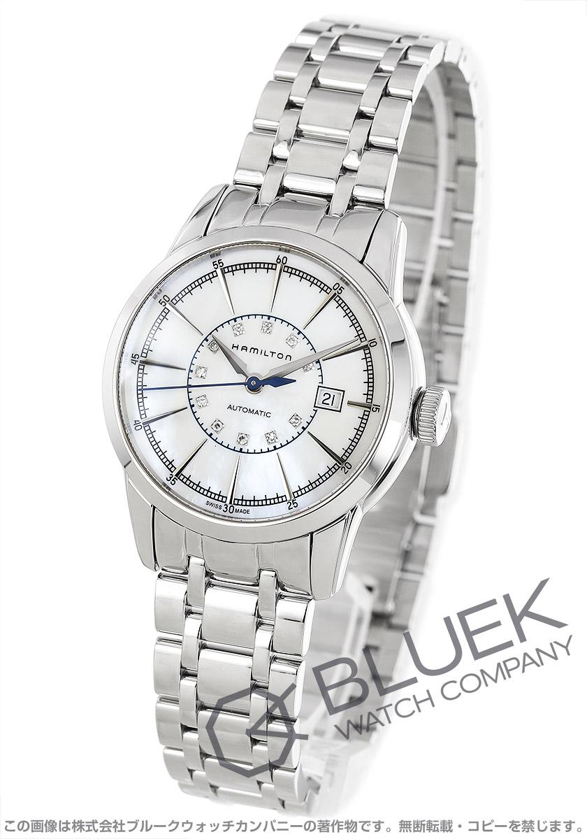 ハミルトン レイルロード レディ オート ダイヤ 腕時計 レディース HAMILTON H40405191
