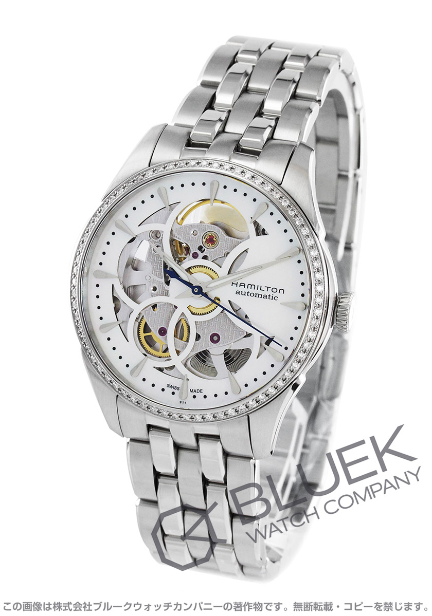 ハミルトン ジャズマスター ビューマチック ダイヤ 腕時計 レディース HAMILTON H42405191