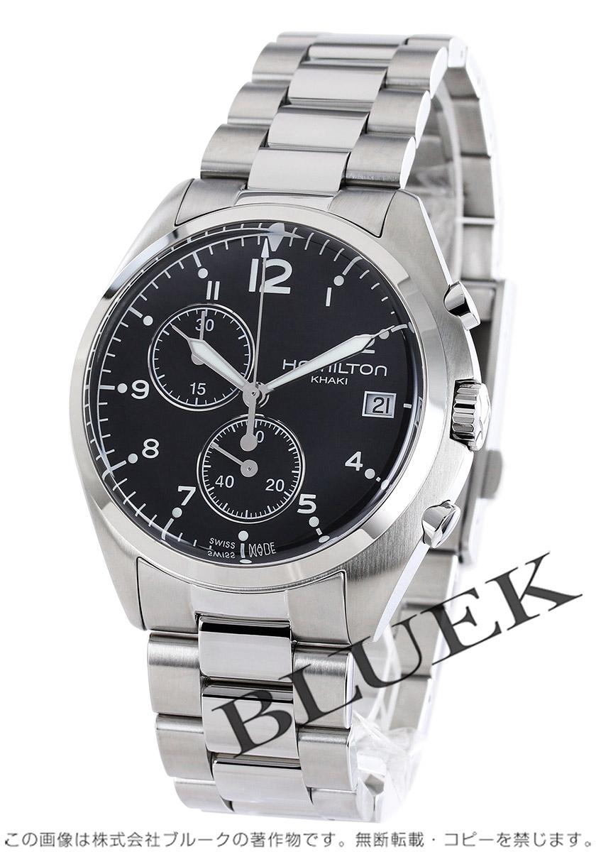 ハミルトン カーキ アビエーション パイロット パイオニア クロノグラフ 腕時計 メンズ HAMILTON H76512133