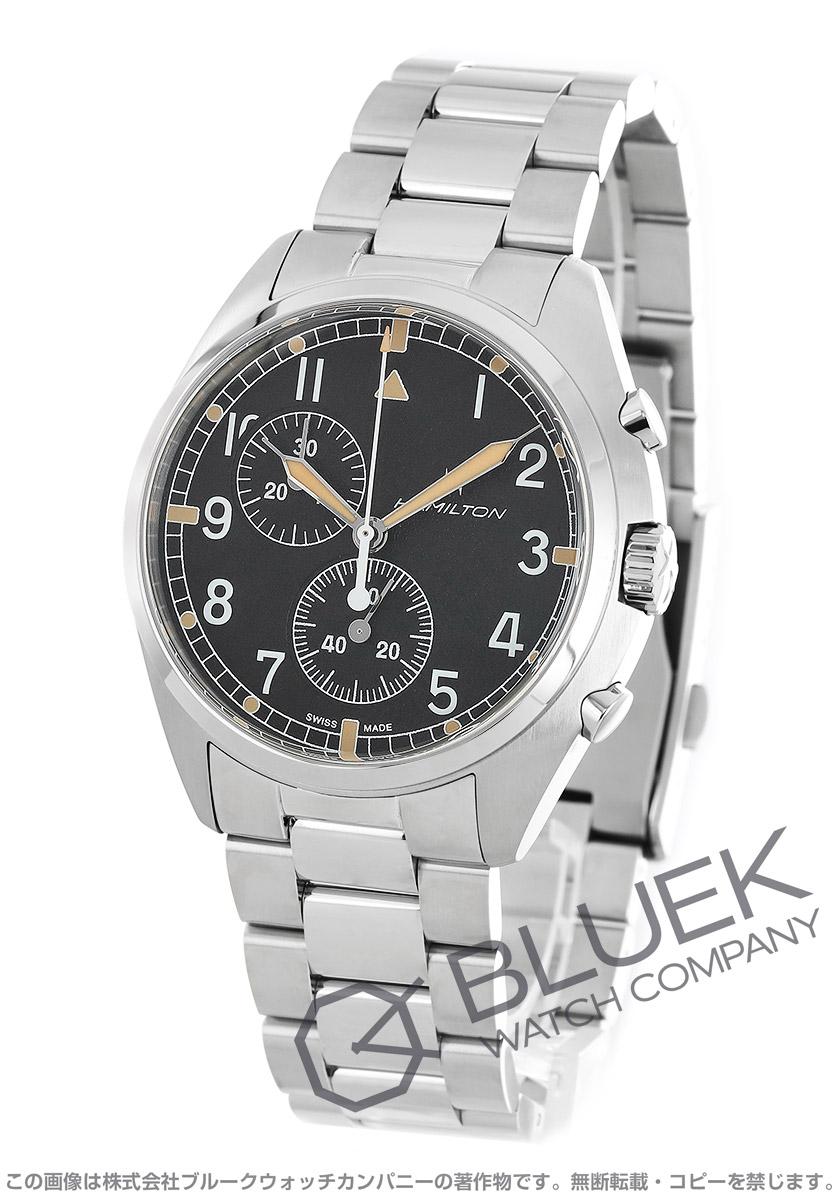 ハミルトン カーキ アビエーション パイロット パイオニア クロノグラフ 腕時計 メンズ HAMILTON H76522131