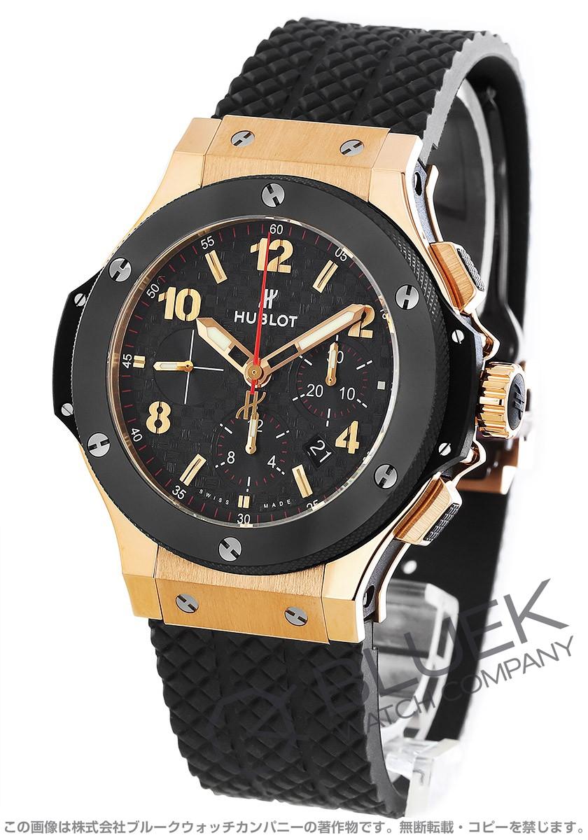 new style 06e56 e6e6d ウブロ ビッグバン ゴールドセラミック クロノグラフ RG金無垢 腕時計 メンズ HUBLOT 301.PB.131.RX