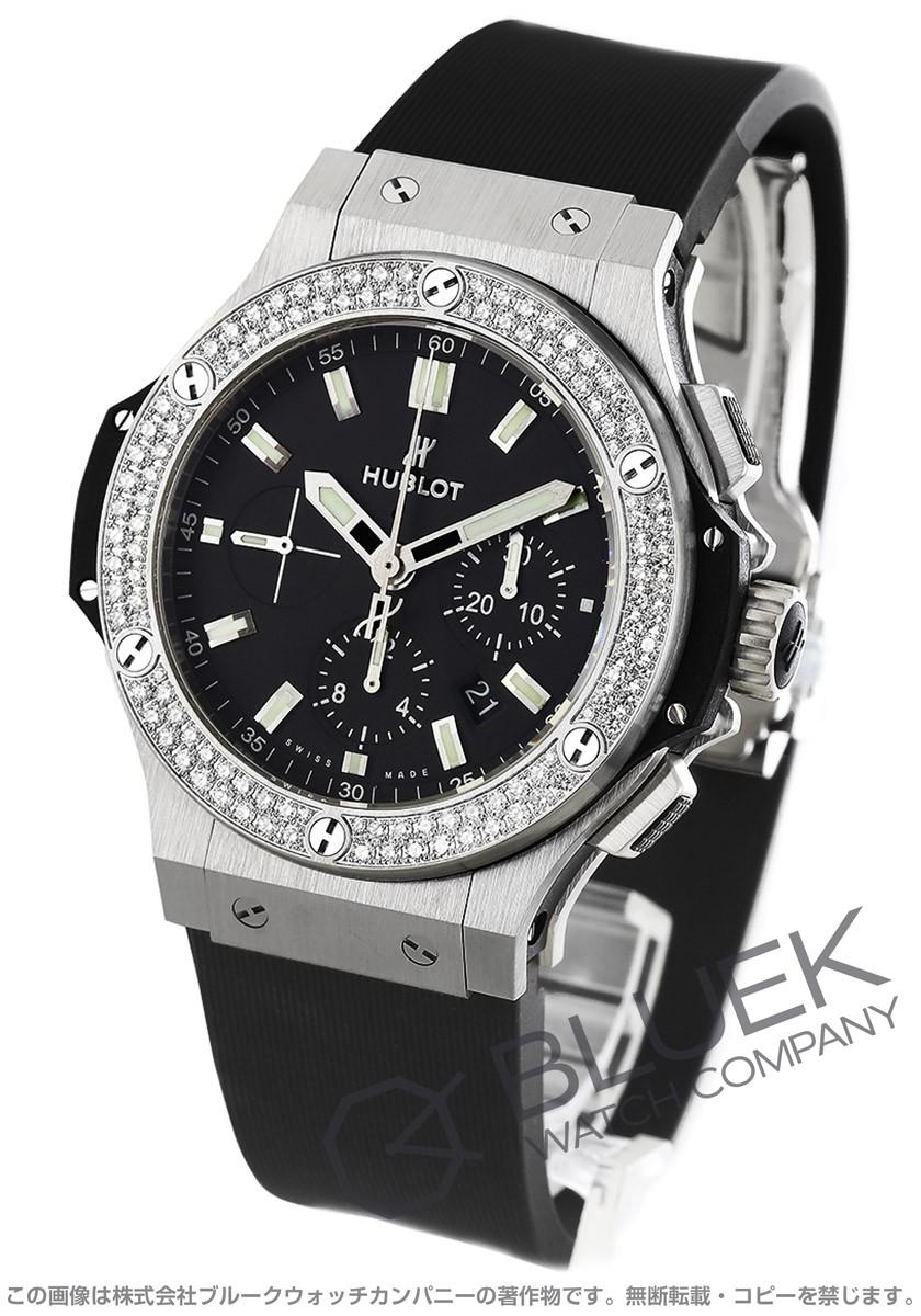 ウブロ ビッグバン スチール クロノグラフ ダイヤ 腕時計 メンズ HUBLOT 301.SX.1170.RX.1104