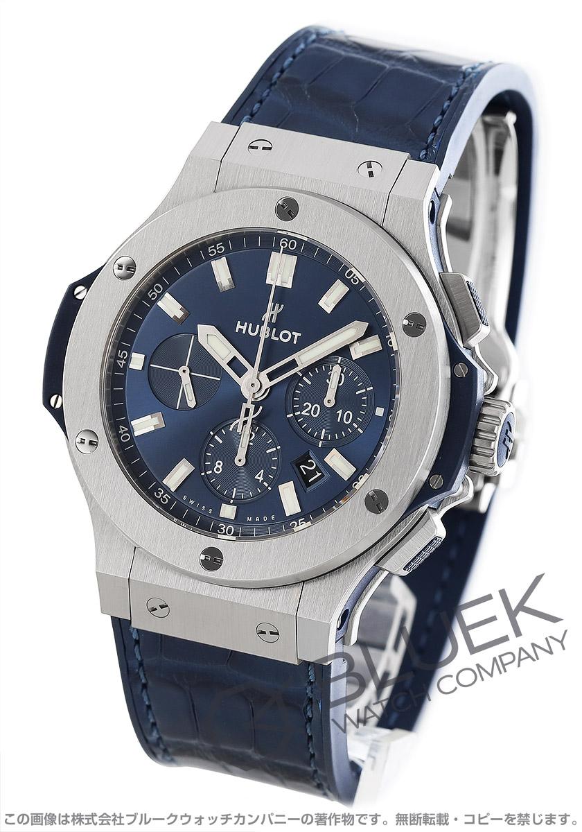size 40 f7fd5 f4814 ウブロ ビッグバン スチール クロノグラフ アリゲーターレザー 腕時計 メンズ HUBLOT 301.SX.7170.LR
