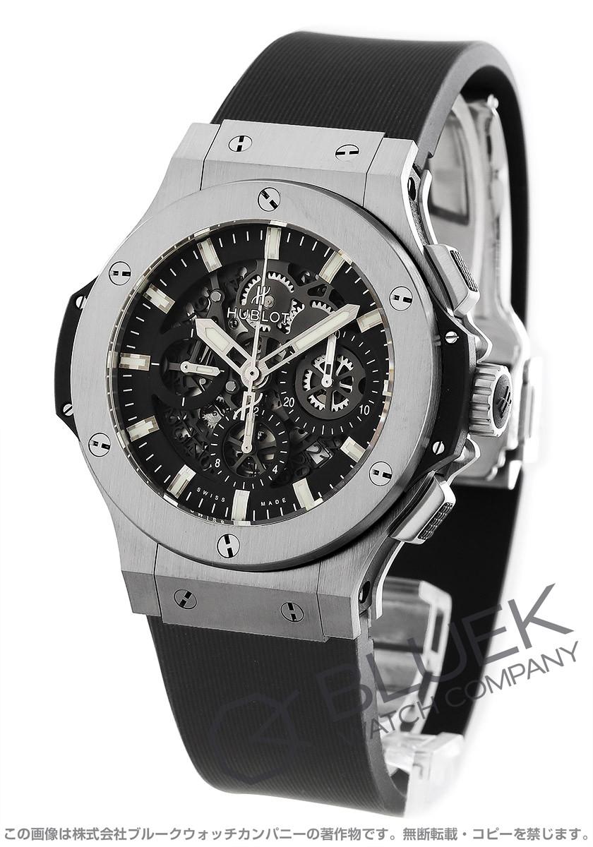 ウブロ ビッグバン アエロバン スチール クロノグラフ 腕時計 メンズ HUBLOT 311.SX.1170.RX