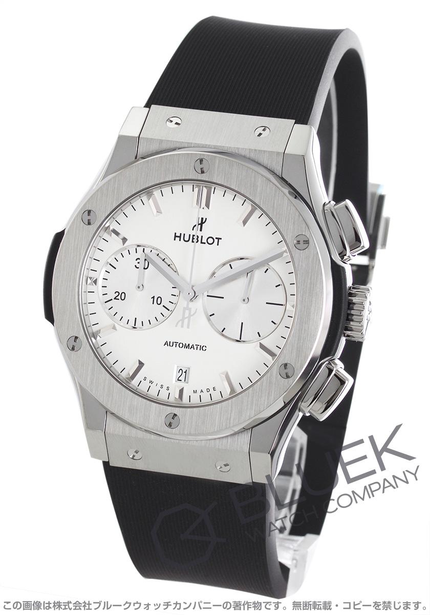 official photos 504ad 9caf2 ウブロ クラシック フュージョン チタニウム オパリン クロノグラフ 腕時計 メンズ HUBLOT 521.NX.2611.RX