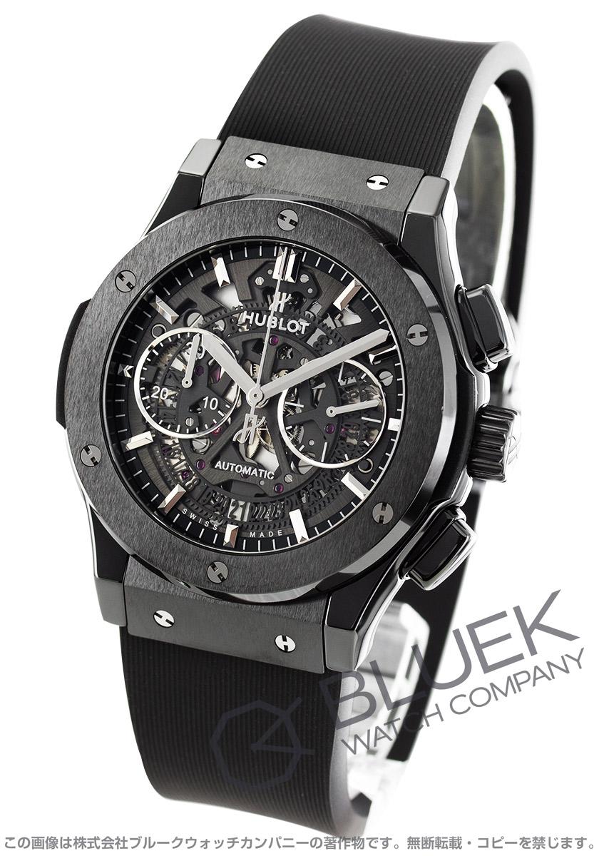 quite nice 71082 ce3f8 ウブロ クラシック フュージョン アエロ フュージョン ブラックマジック クロノグラフ 腕時計 メンズ HUBLOT 525.CM.0170.RX