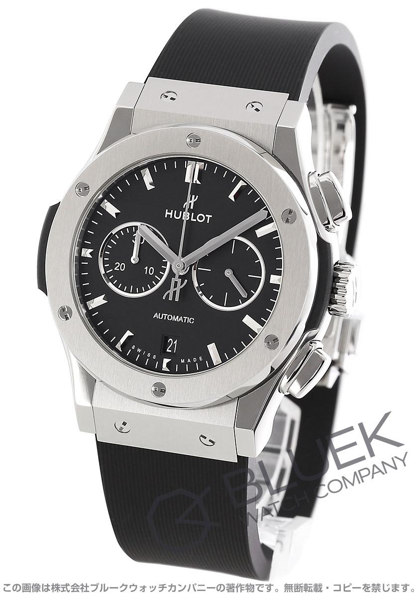 ウブロ クラシック フュージョン チタニウム クロノグラフ 腕時計 メンズ HUBLOT 541.NX.1171.RX