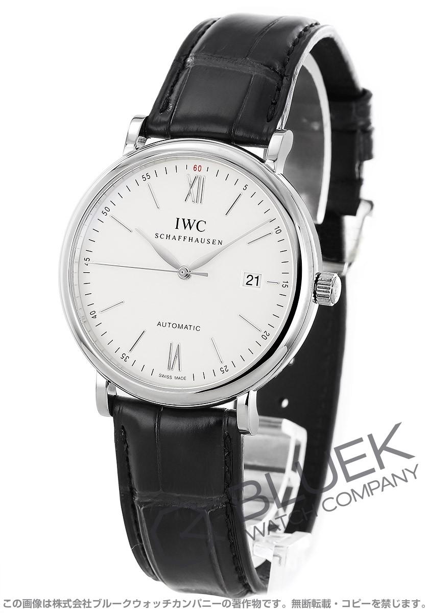 IWC International Watch Companyポートフィノ アリゲーターレザー メンズ 356501