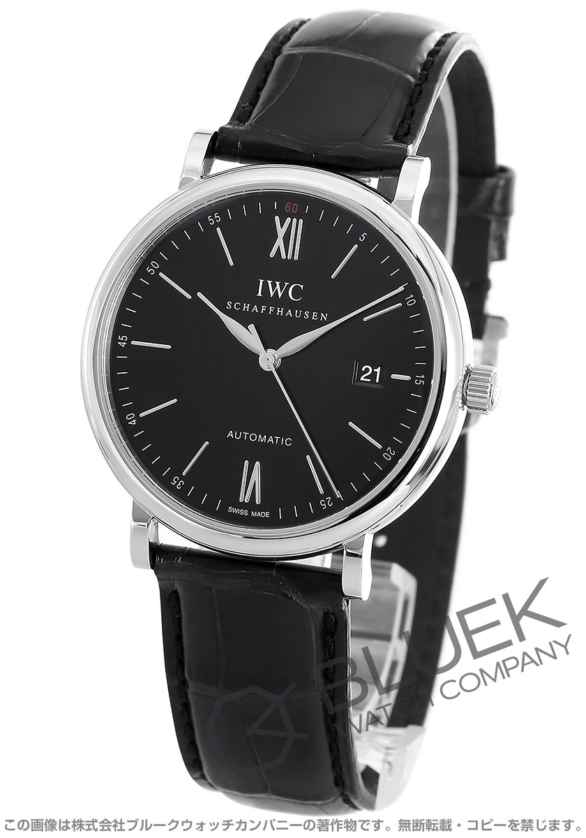 IWC International Watch Companyポートフィノ アリゲーターレザー メンズ IW356502