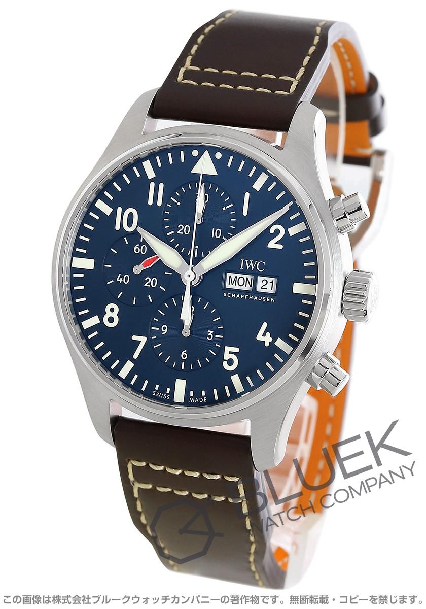 IWC パイロット・ウォッチ プティ・プランス クロノグラフ 腕時計 メンズ IWC IW377714