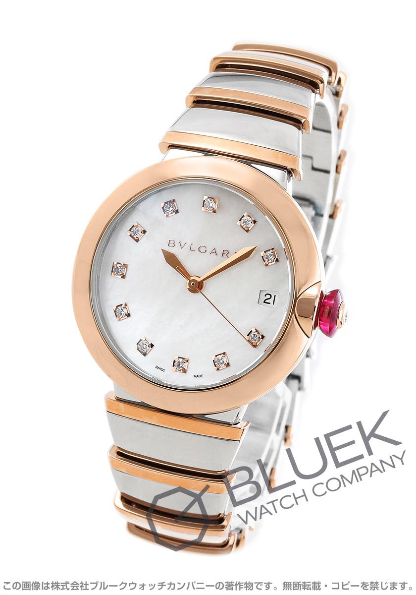 ブルガリ ルチェア ダイヤ 腕時計 レディース BVLGARI LU36WSPGSPGD/11