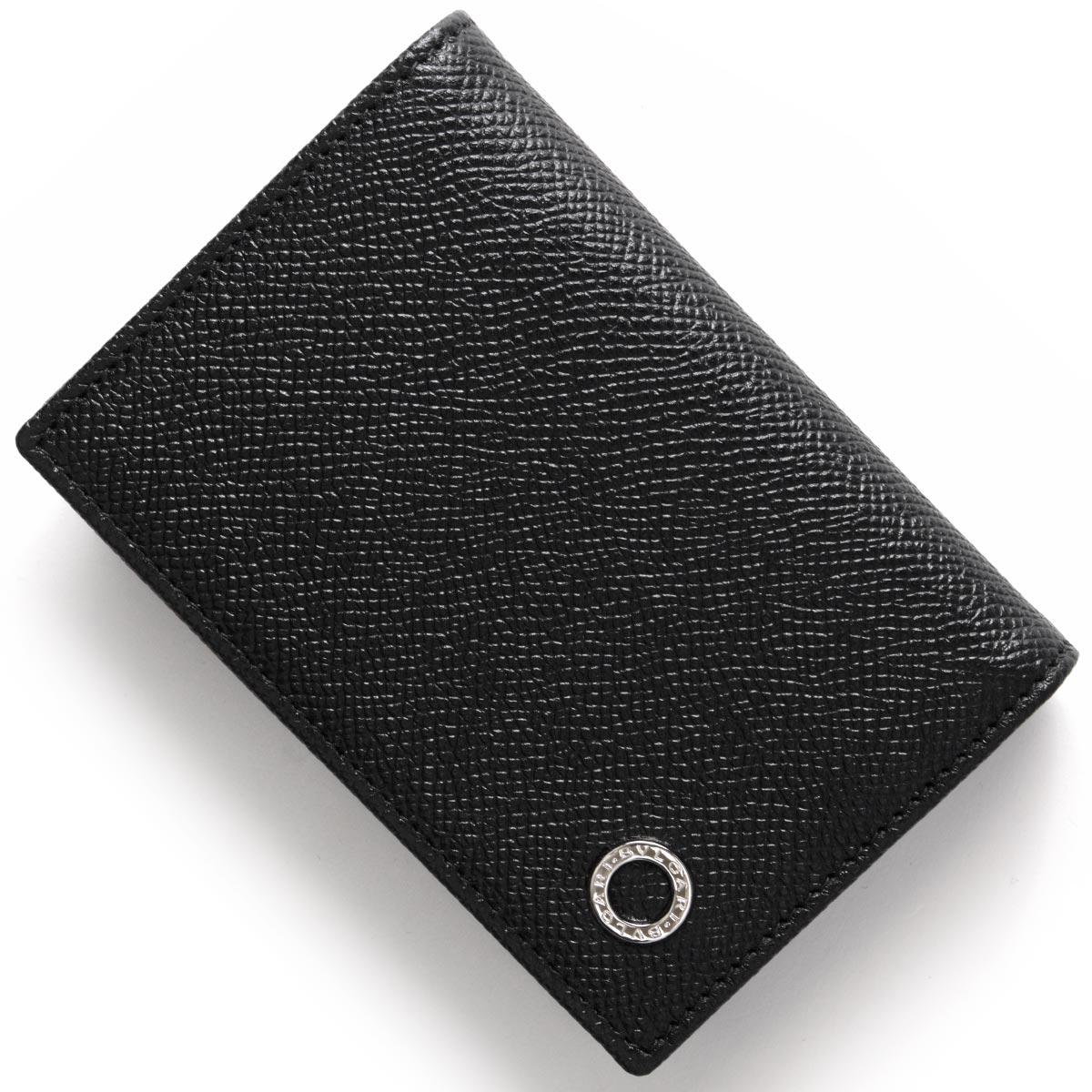 buy online 7670e 8c85a ブルガリ カードケース メンズ ブルガリブルガリ マン ブラック 280297 BVLGARI