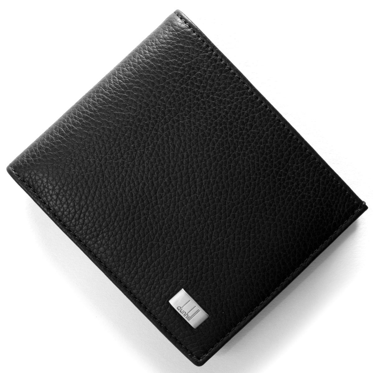 78ba76b524f5 ダンヒル DUNHILL 二つ折り財布 アボリティーズ AVORITIES ブラック L2R932 A メンズ