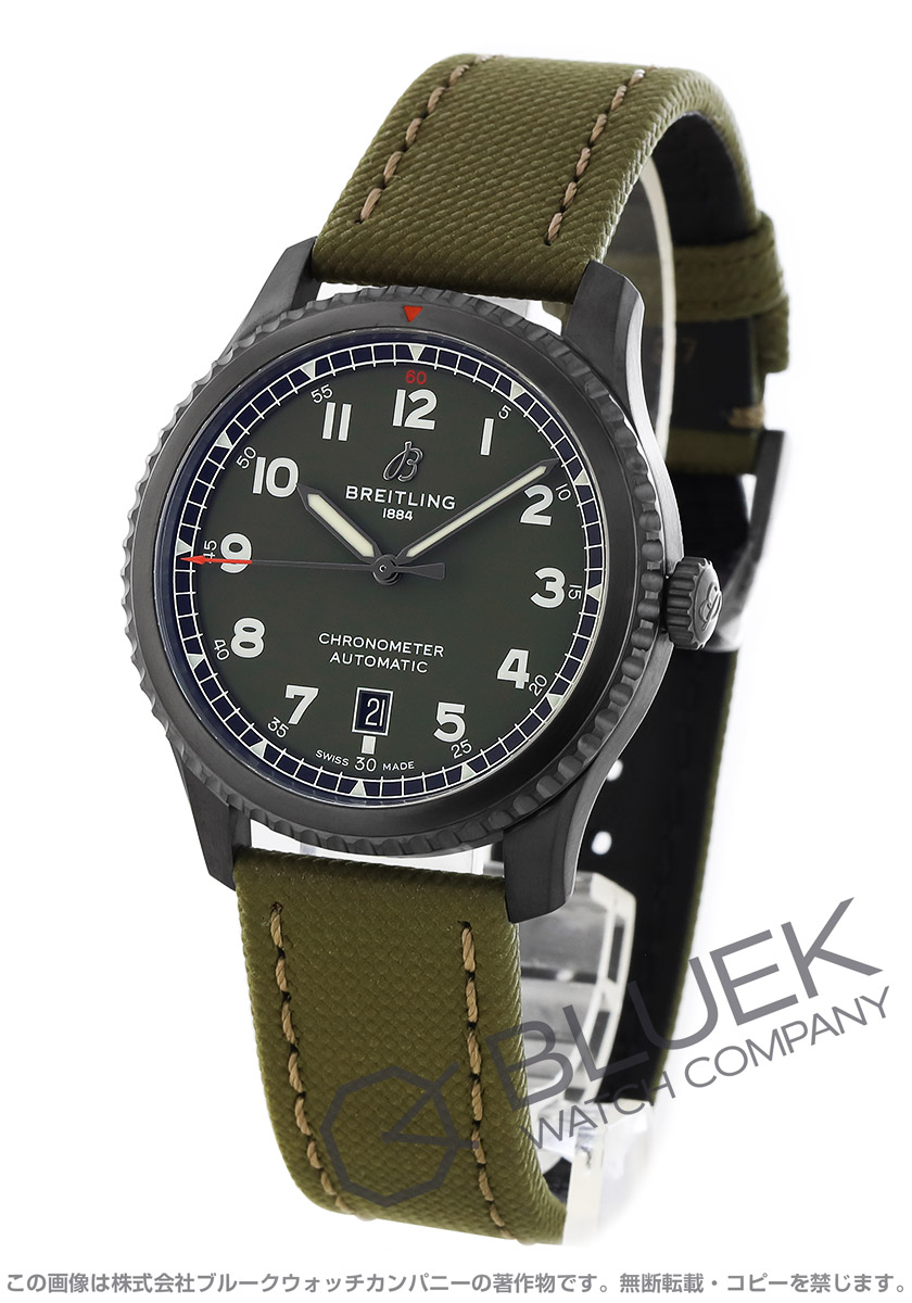 ブライトリング ナビタイマー アビエーター8 カーチス ウォーホーク 腕時計 メンズ BREITLING M173152A1L1X1