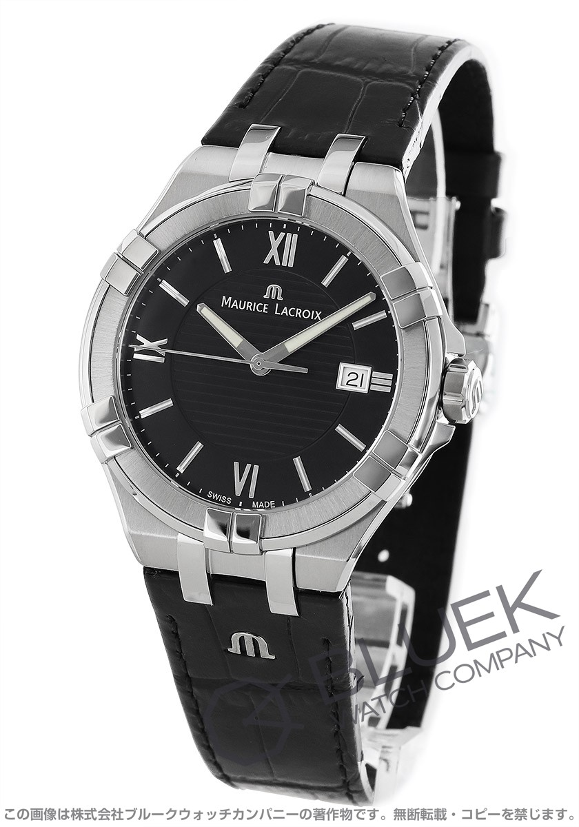 モーリス・ラクロア アイコン デイト 腕時計 メンズ MAURICE LACROIX AI1008-SS001-330-1