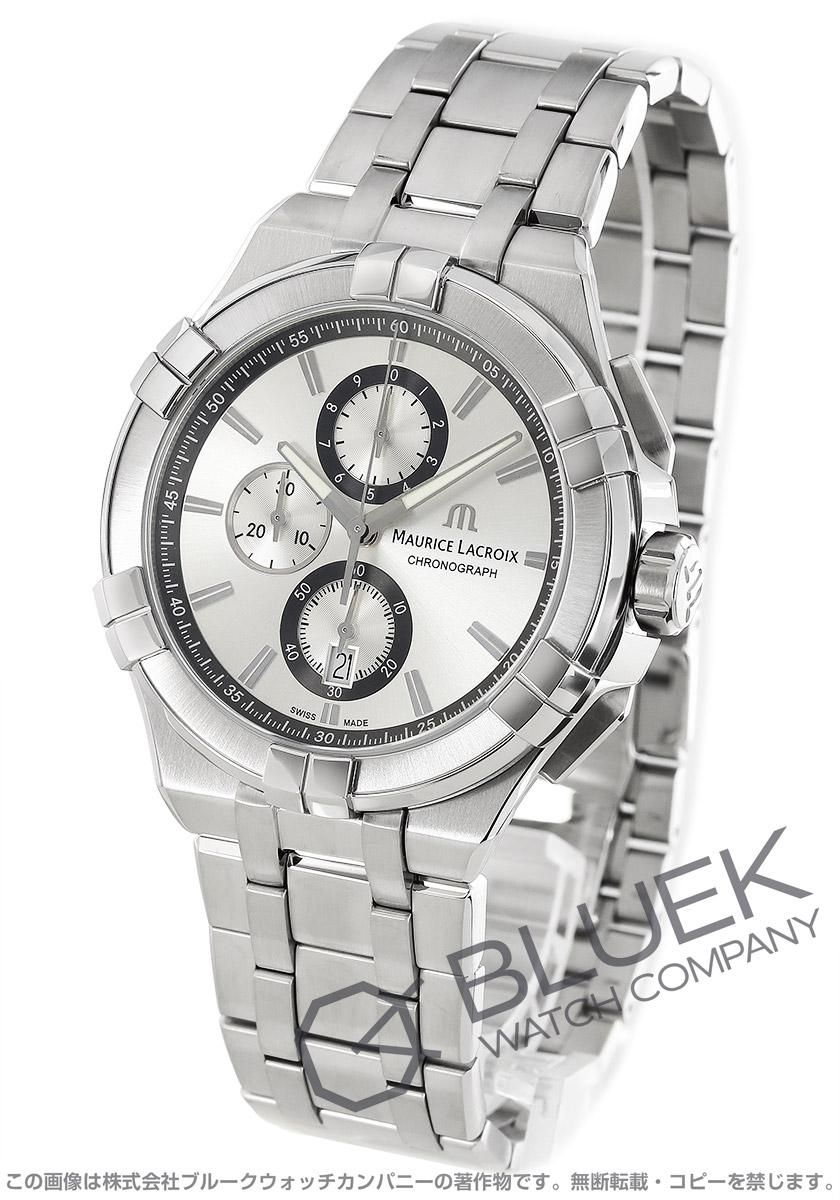 モーリス・ラクロア アイコン クロノグラフ 腕時計 メンズ MAURICE LACROIX AI1018-SS002-130-1