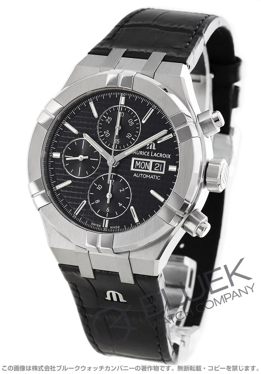モーリス・ラクロア アイコン クロノグラフ 腕時計 メンズ MAURICE LACROIX AI6038-SS001-330-1