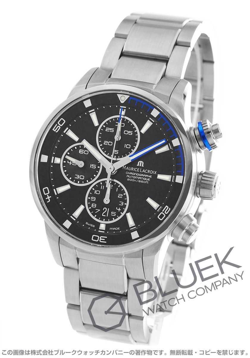 モーリス・ラクロア ポントスS クロノグラフ 替えベルト付き 腕時計 メンズ MAURICE LACROIX PT6008-SS002-331