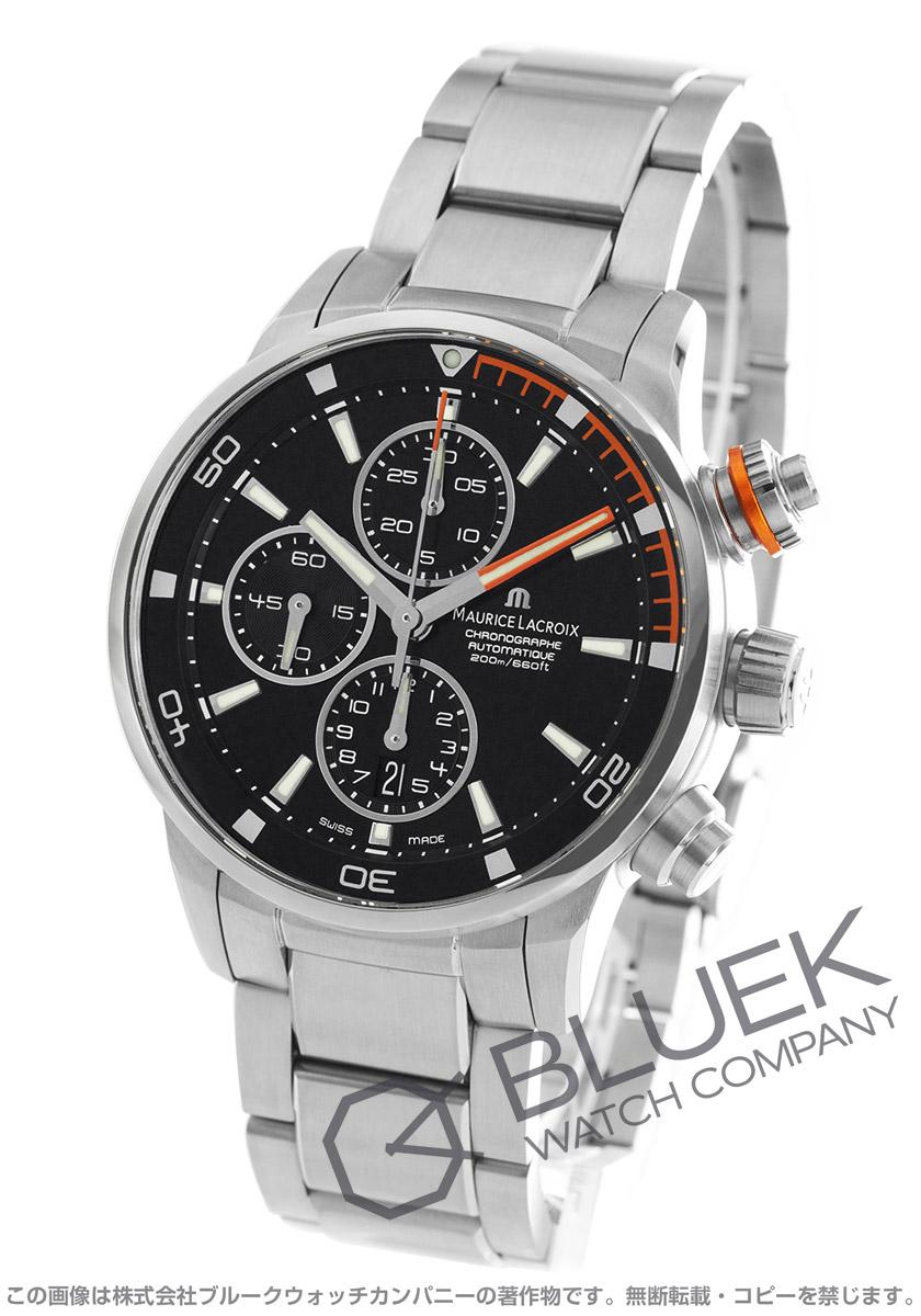 モーリス・ラクロア ポントスS クロノグラフ 替えベルト付き 腕時計 メンズ MAURICE LACROIX PT6008-SS002-332