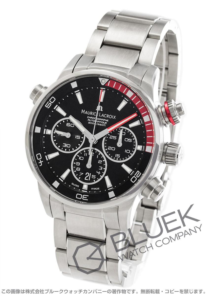 モーリス・ラクロア ポントスS クロノグラフ 替えベルト付き 腕時計 メンズ MAURICE LACROIX PT6018-SS002-330