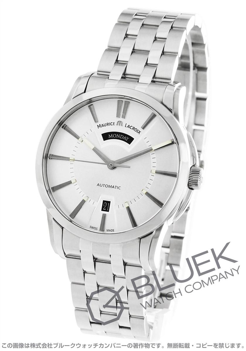 モーリス・ラクロア ポントス デイデイト 腕時計 メンズ MAURICE LACROIX PT6158-SS002-13E