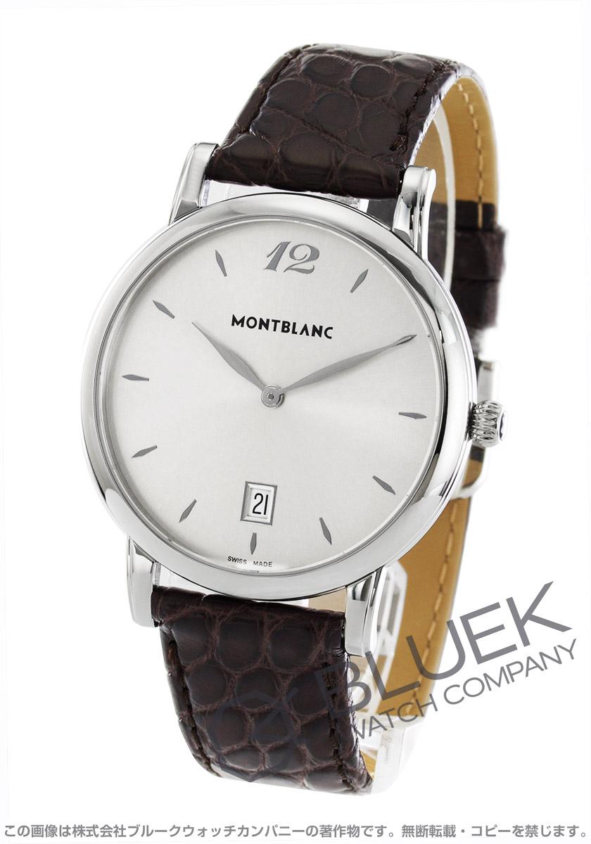 モンブラン スター クラシック アリゲーターレザー 腕時計 メンズ MONTBLANC 108770