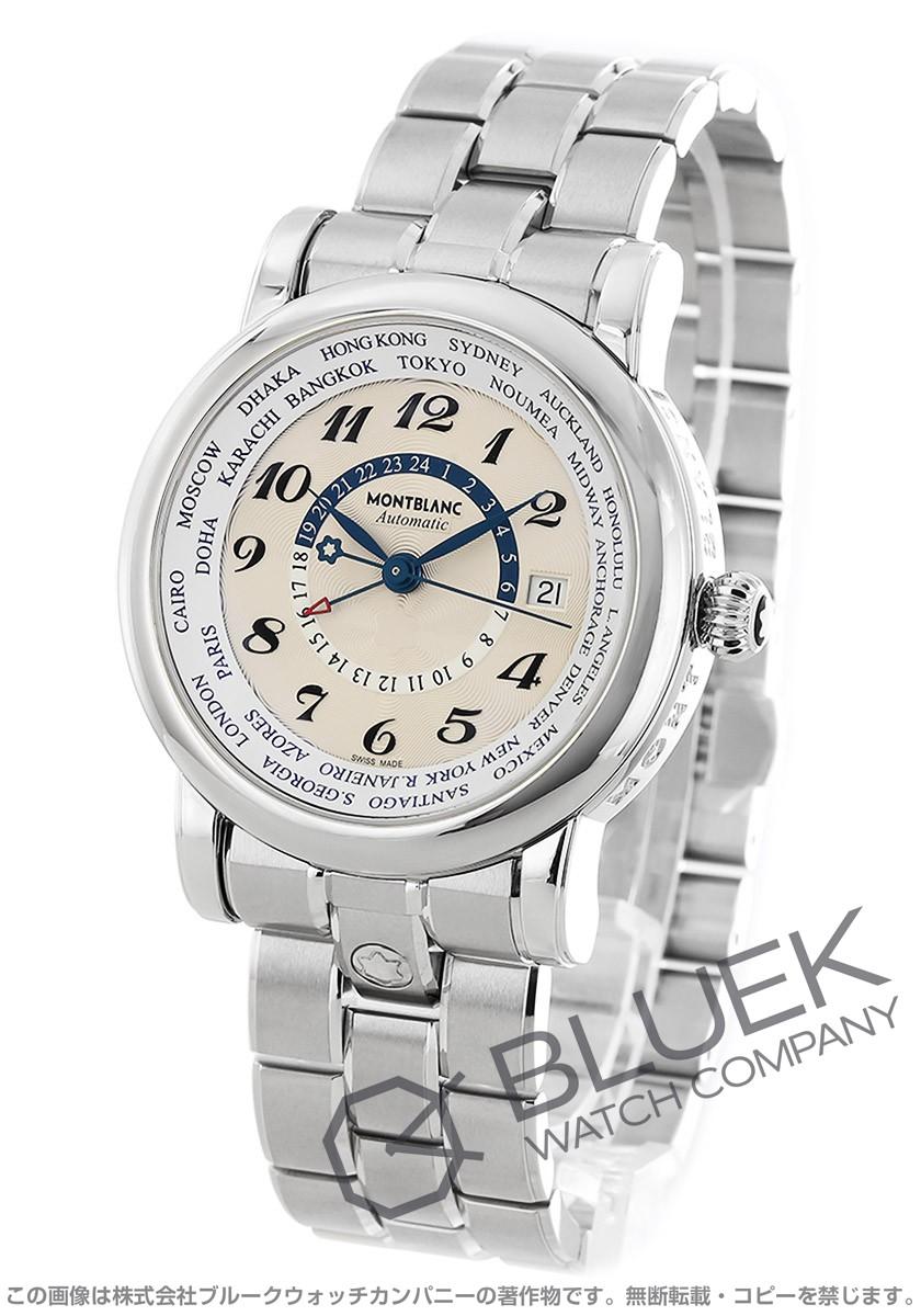 モンブラン スター ワールドタイム GMT 腕時計 メンズ MONTBLANC 109286