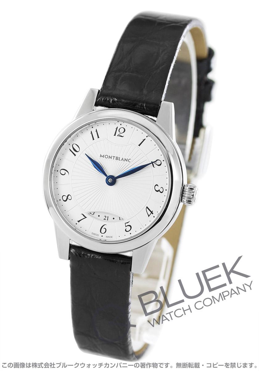 モンブラン ボエム デイト アリゲーターレザー 腕時計 レディース MONTBLANC 111206