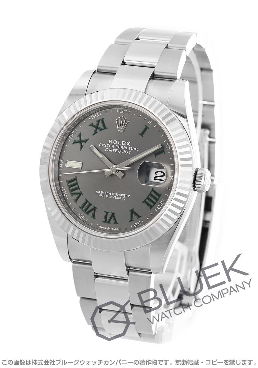 ロレックス デイトジャスト 41 腕時計 メンズ ROLEX 126334