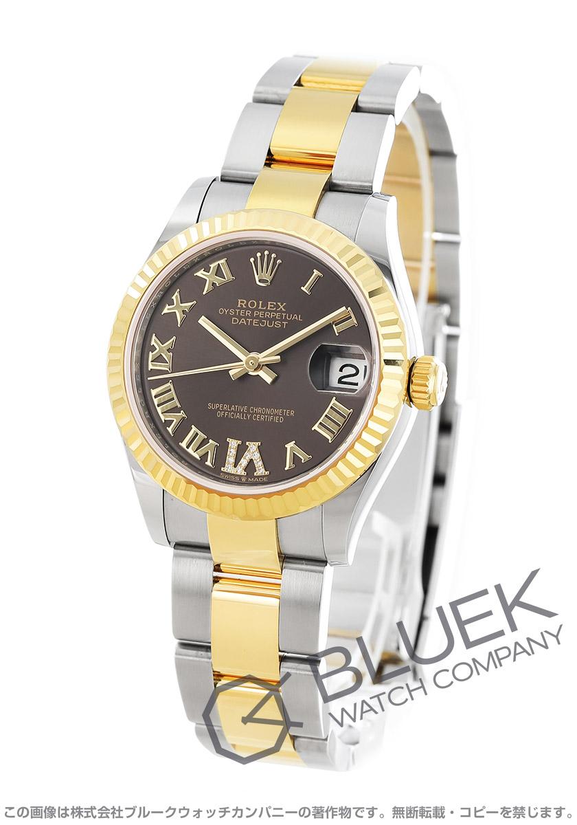 ロレックス デイトジャスト 31 ダイヤ 腕時計 レディース ROLEX 278273
