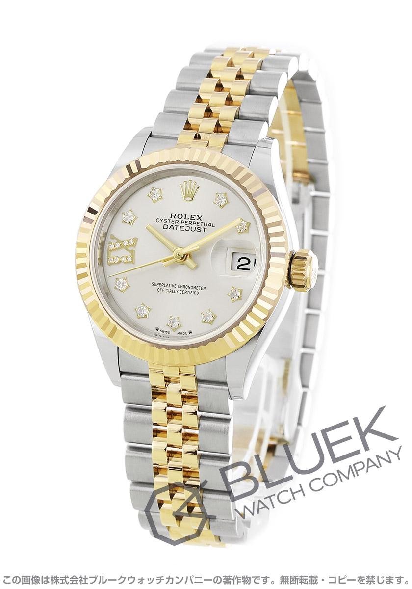 ロレックス デイトジャスト 28 ダイヤ 腕時計 レディース ROLEX 279173G
