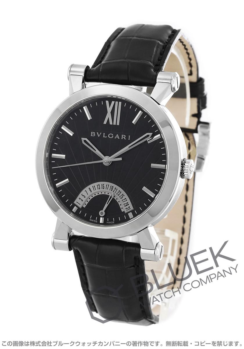 ブルガリ ソティリオ ブルガリ アリゲーターレザー 腕時計 メンズ BVLGARI SB42BSLDR