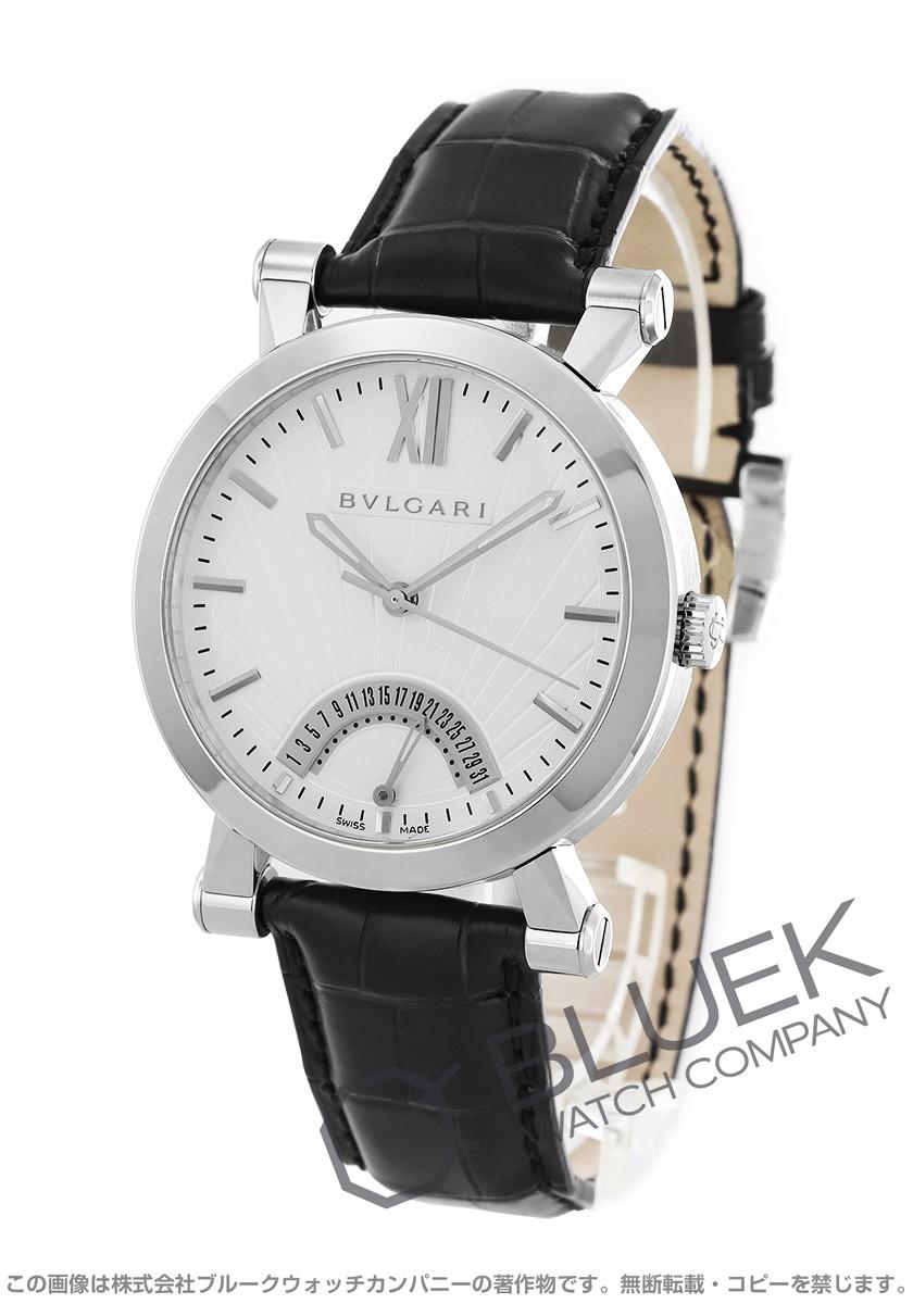 ブルガリ ソティリオ ブルガリ アリゲーターレザー 腕時計 メンズ BVLGARI SB42WSLDR