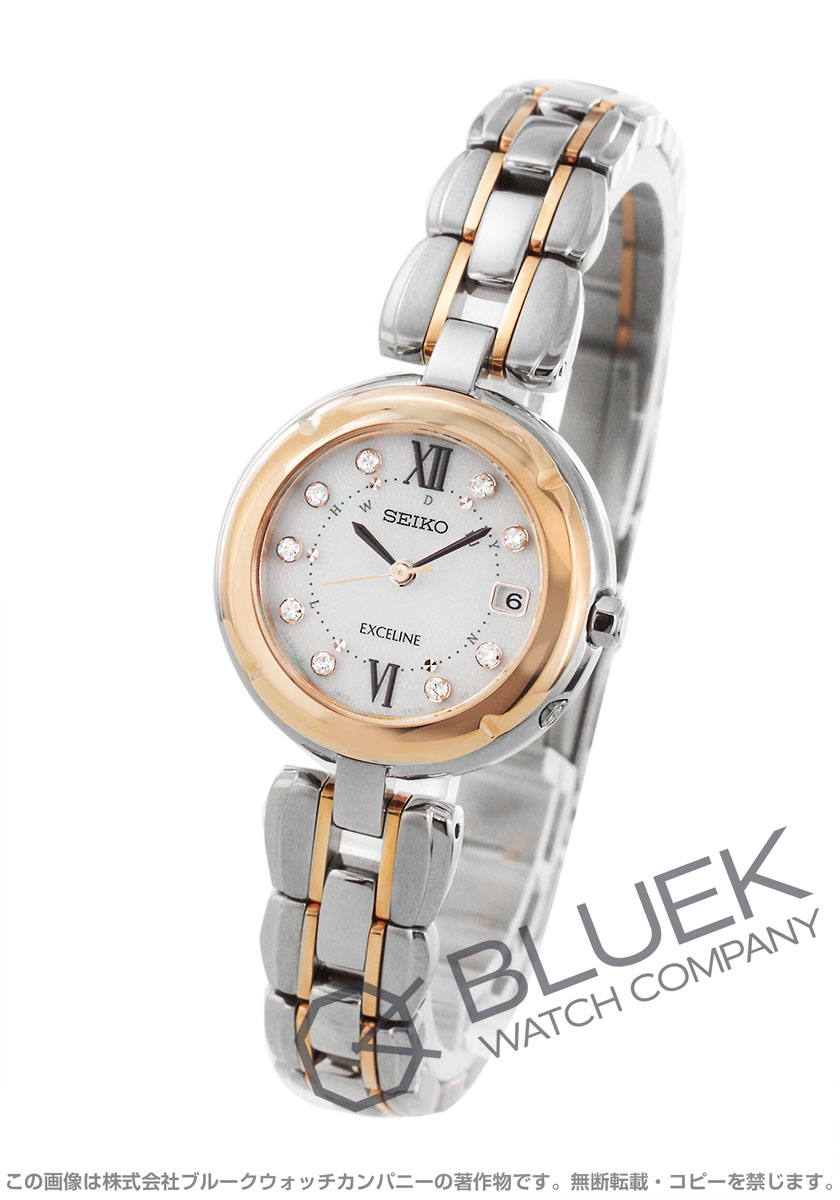 huge discount b16ce 6ebc9 セイコー エクセリーヌ ダイヤ 腕時計 レディース SEIKO SWCW124