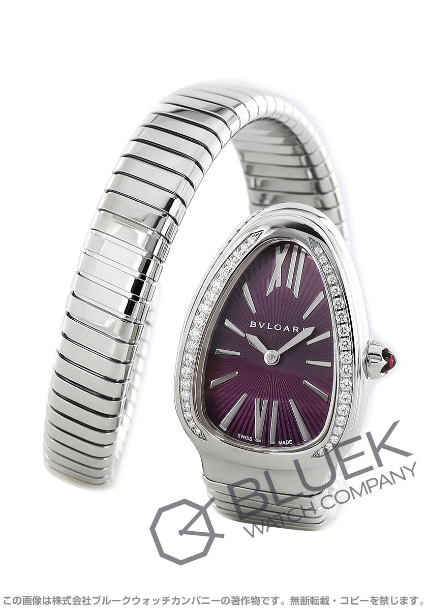 ブルガリ セルペンティ トゥボガス ダイヤ 腕時計 レディース BVLGARI SP35C7SDS.1T