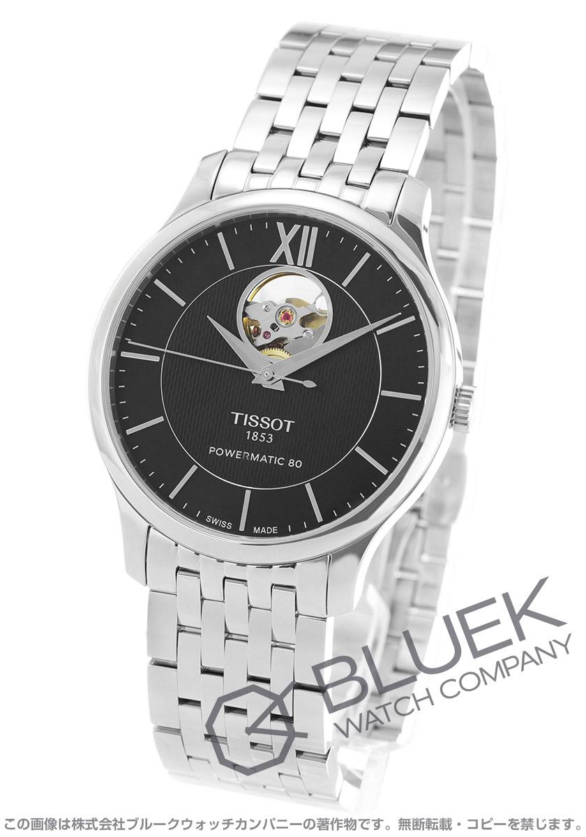 63ec57d76d ティソ T-クラシック トラディション オープンハート 腕時計 メンズ TISSOT T063.907.11.058.00