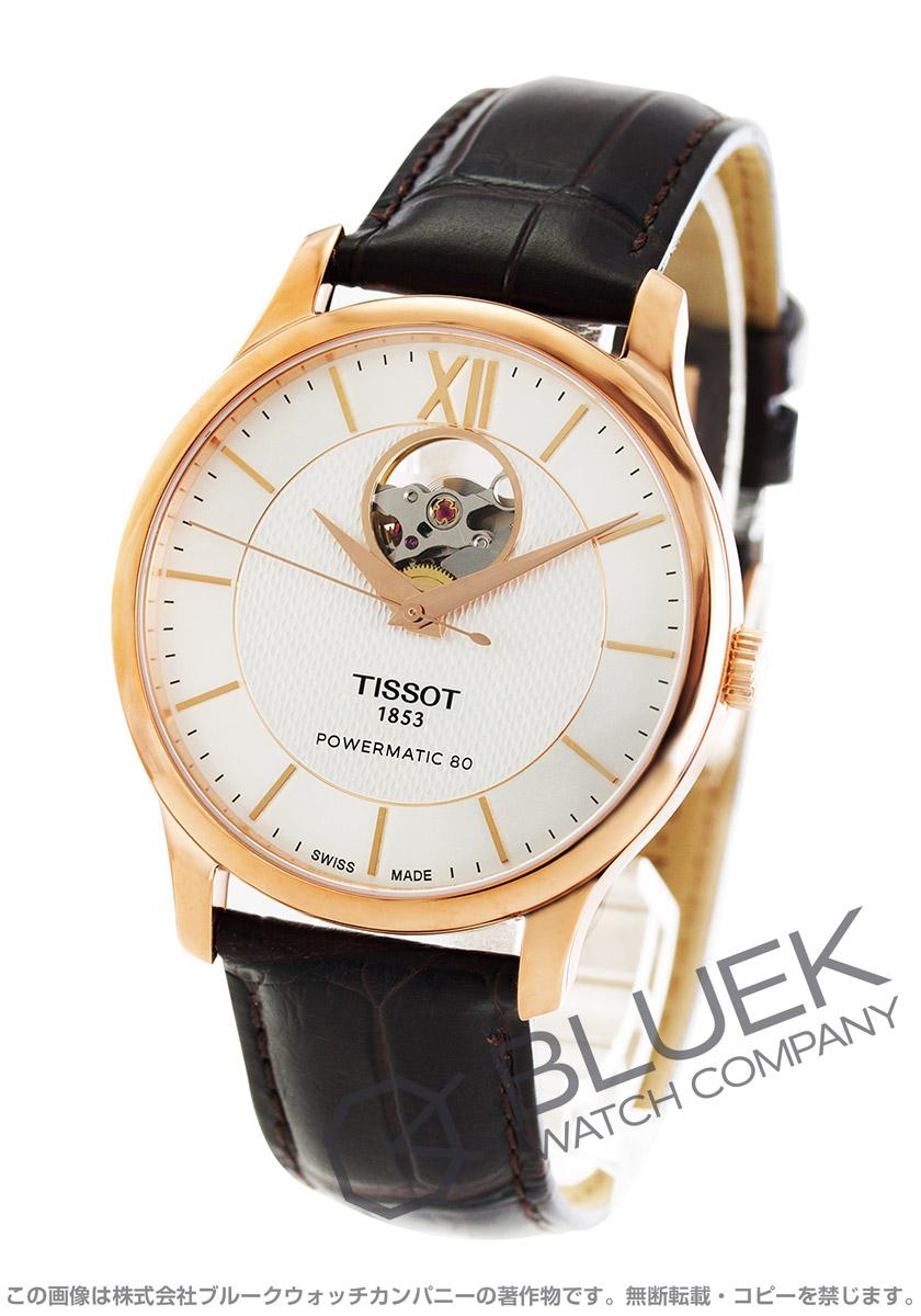 ティソ T-クラシック トラディション オープンハート 腕時計 メンズ TISSOT T063.907.36.038.00