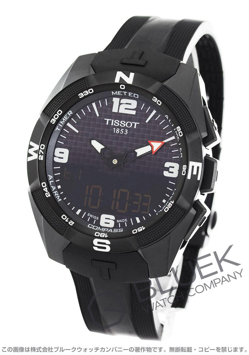 ティソ T-タッチ エキスパート ソーラー クロノグラフ 腕時計 メンズ TISSOT T091.420.47.057.01