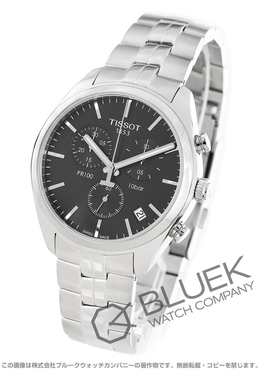 ティソ T-クラシック PR100 クロノグラフ 腕時計 メンズ TISSOT T101.417.11.051.00
