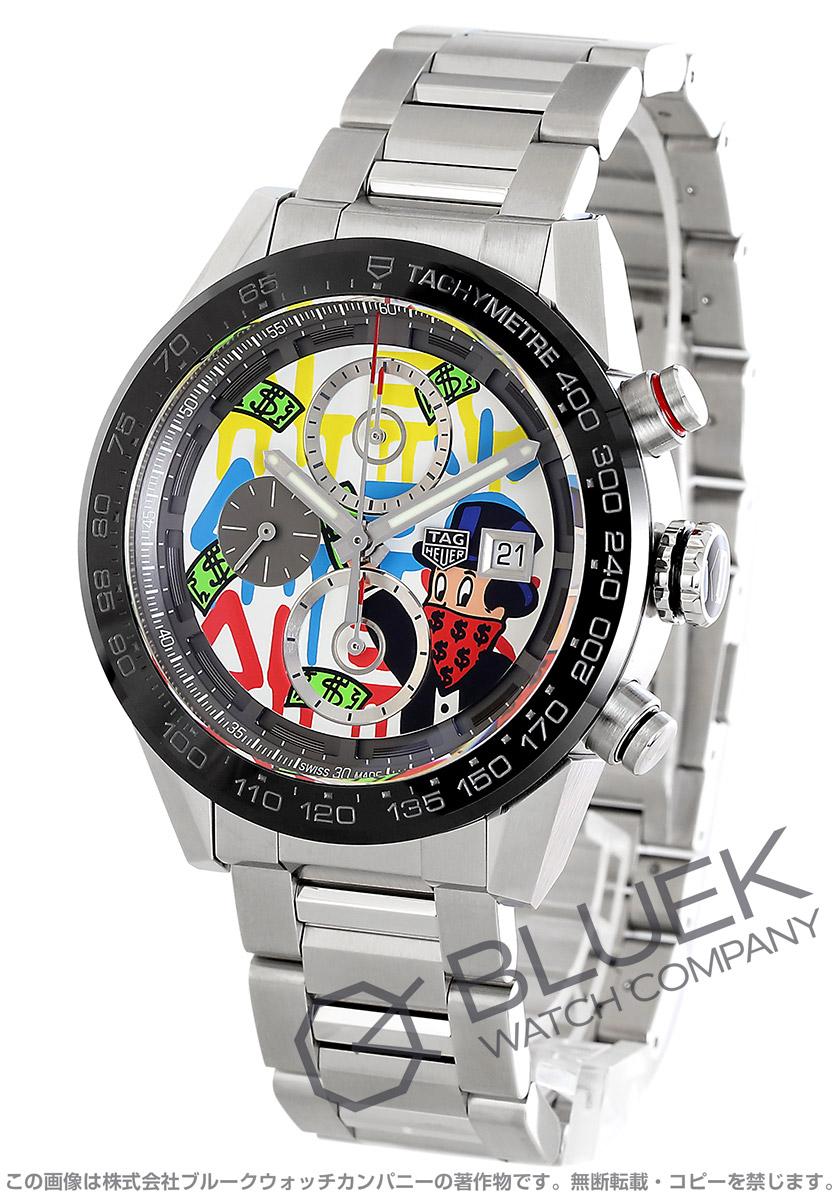 タグホイヤー カレラ ホイヤー01 アレック・モノポリー スペシャルエディション クロノグラフ 腕時計 メンズ TAG Heuer CAR201AA.BA0714