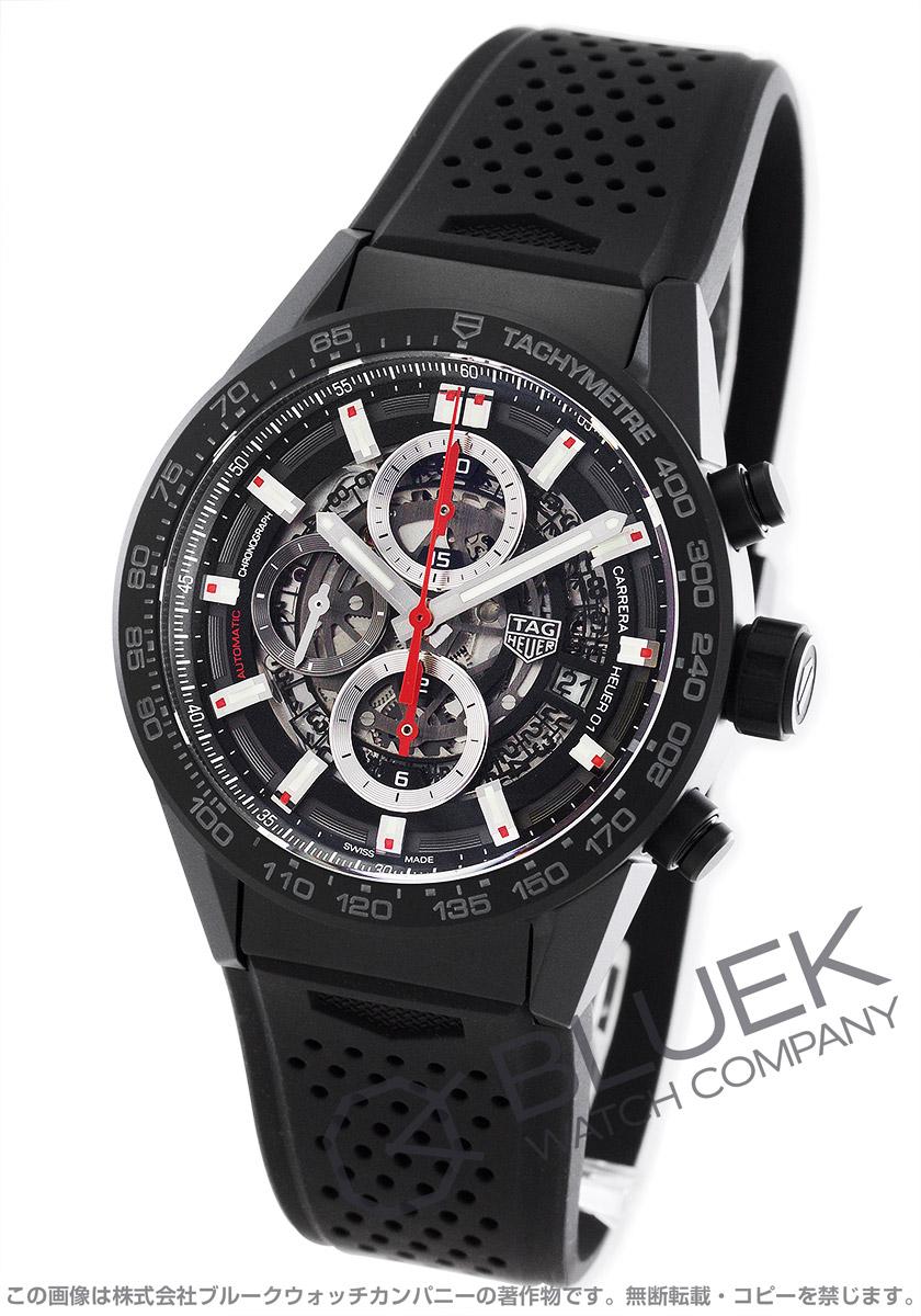 タグホイヤー カレラ ホイヤー01 クロノグラフ 腕時計 メンズ TAG Heuer CAR2090.FT6088