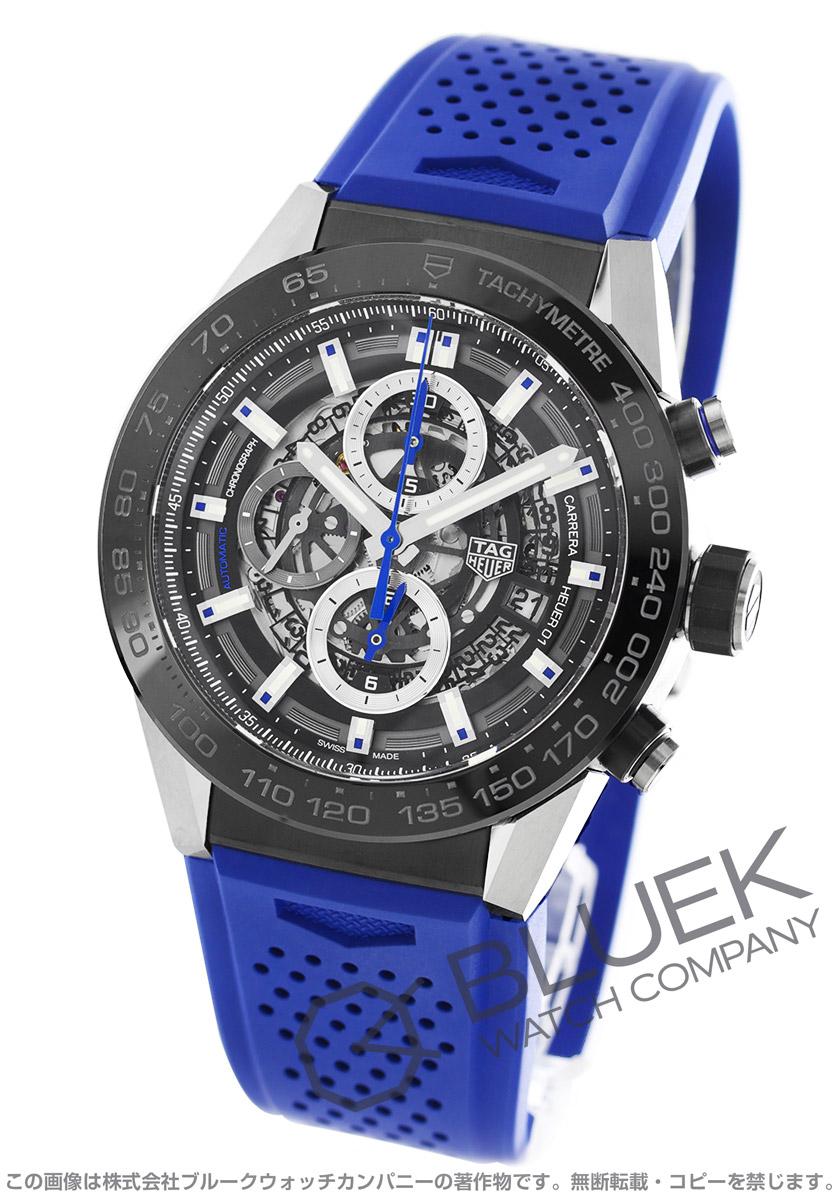 タグホイヤー カレラ ホイヤー01 クロノグラフ 腕時計 メンズ TAG Heuer CAR2A1T.FT6052