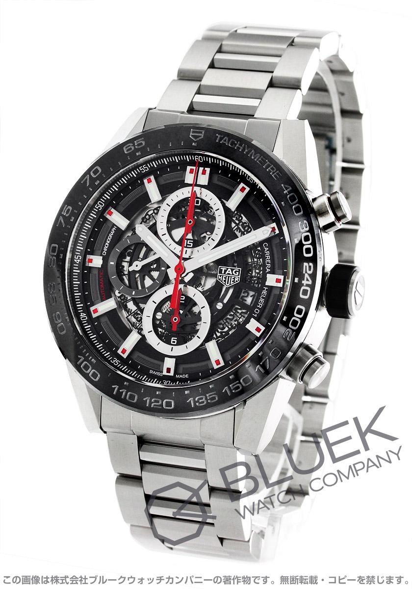 best service 7fc2e 1efdd タグホイヤー カレラ ホイヤー01 クロノグラフ 腕時計 メンズ ...