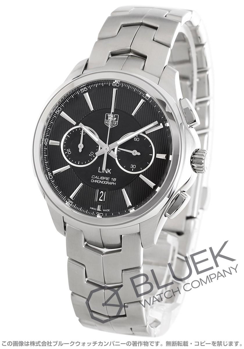 pretty nice a6394 9dc89 タグホイヤー リンク クロノグラフ 腕時計 メンズ TAG Heuer ...