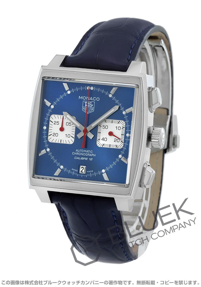 san francisco 9a1f7 fda22 タグホイヤー モナコ クロノグラフ アリゲーターレザー 腕時計 ...