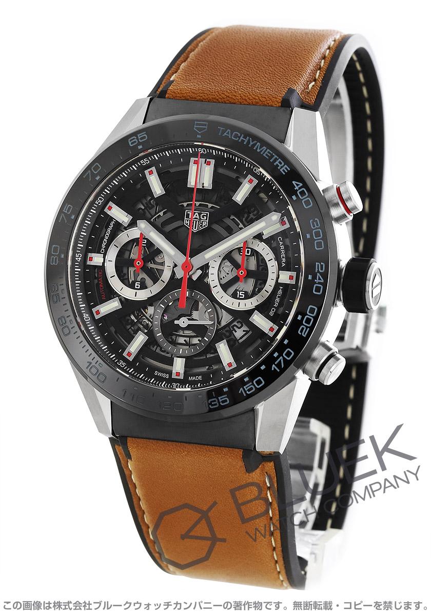タグホイヤー カレラ ホイヤー02 クロノグラフ 腕時計 メンズ TAG Heuer CBG2A10.FT6169